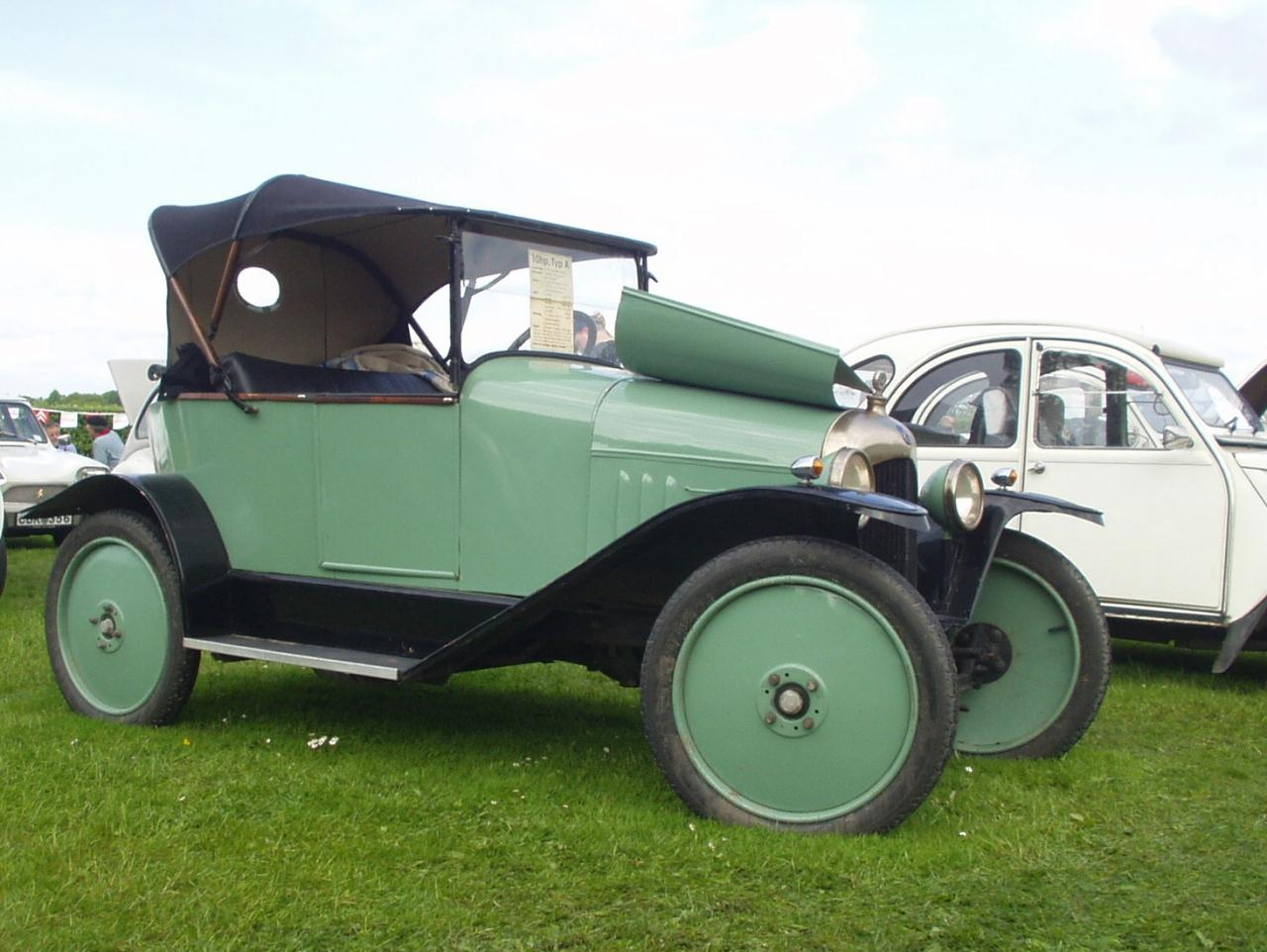 Citroen Type A Tourer