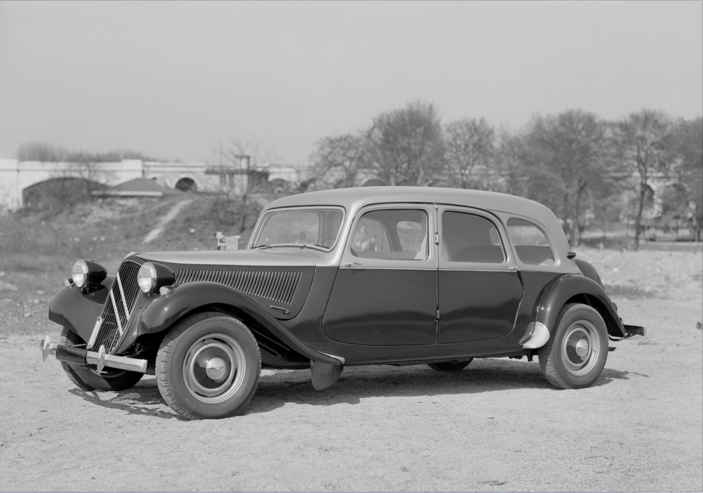 Traction 11D Familiale 1955